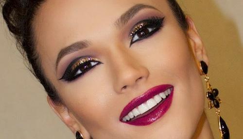 Новогодний макияж 2015: будь в тренде!