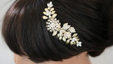 Жительница Запорожья  изготавливает удивительные украшения для волос