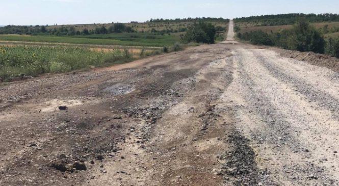 Трэш и ужас: в сеть попали фото дороги на Бердянск