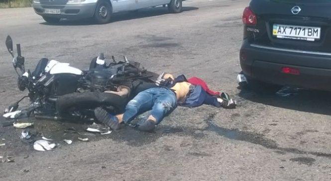 Авария под Кушугумом: Мотоциклист на Kawasaki разбился насмерть