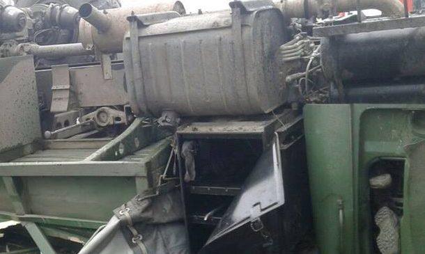 Смертельная командировка: На Запорожье грузовик ВСУ перевернулся на крышу, погиб военнослужащий