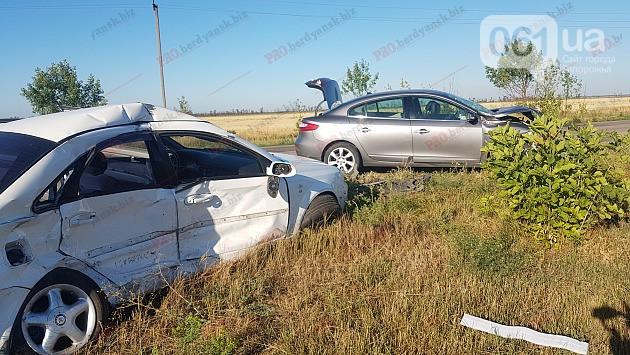 ДТП под Бердянском: погибла пассажирка Chevrolet