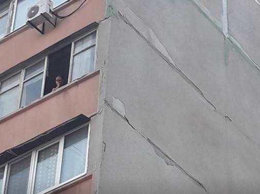 На Песках пьяная женщина выбросила собаку с 7 этажа