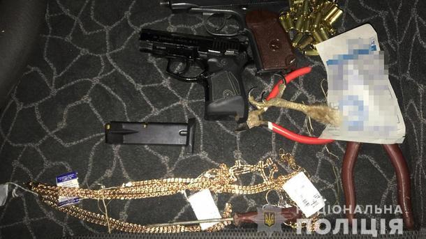 Ограбление ювелирного магазина в Каменке: полиция задержала преступников под Бердянском
