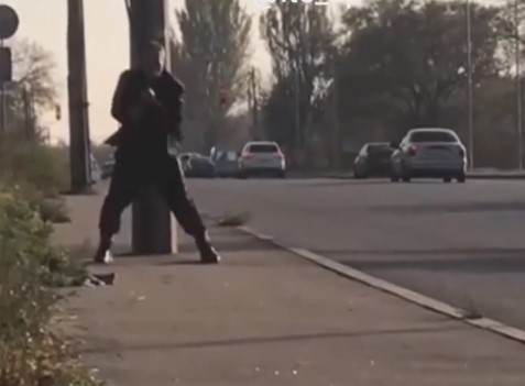 Мегафайтер: в сеть попало видео неадеквата на Хортице