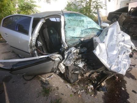 Жуткое ДТП под Мелитополем: погиб 43-летний водитель «ВАЗа», — ФОТО 18+