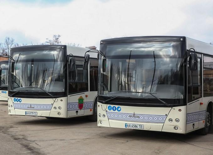 автобусы в Запорожье