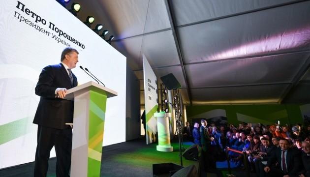 Визит Порошенко в Приморск: президент похвалил Ахметова и упрекнул Тимошенко