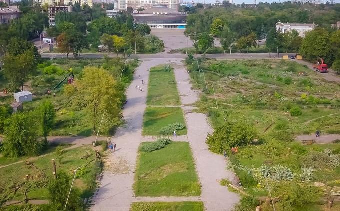 Сквер Яланского Запорожье