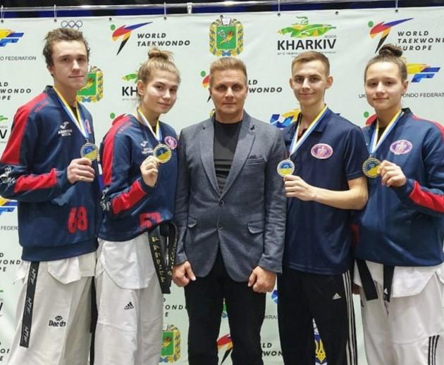 тхеквондо Запорожье Чемпионат Украины