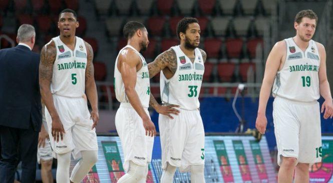 Суперлига: «Запорожье» потерпело поражение от «Киев-Баскет» в первой игре полуфинала плей-офф
