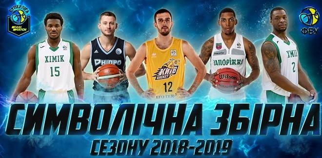 """Игрок БК """"Запорожье"""" – в символической сборной сезона!"""