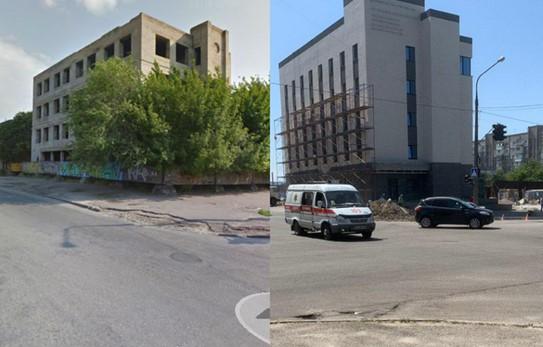 Запорожская мэрия продала участки в центре города, где завершают строительство офисного здания без разрешения