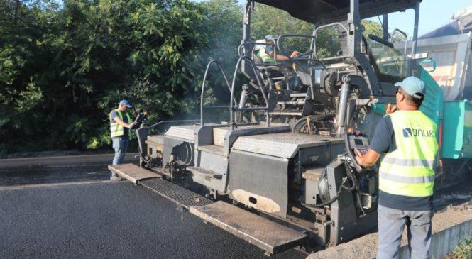 Ремонтные работы на трассе Запорожье-Мариуполь ведутся круглосуточно, – ФОТО, ВИДЕО