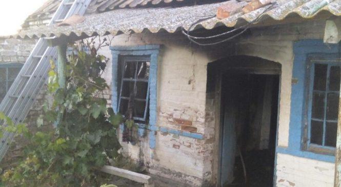 Пожар в Приазовье: Бойцы ГСЧС тушили дом в Примпосаде, – ФОТО